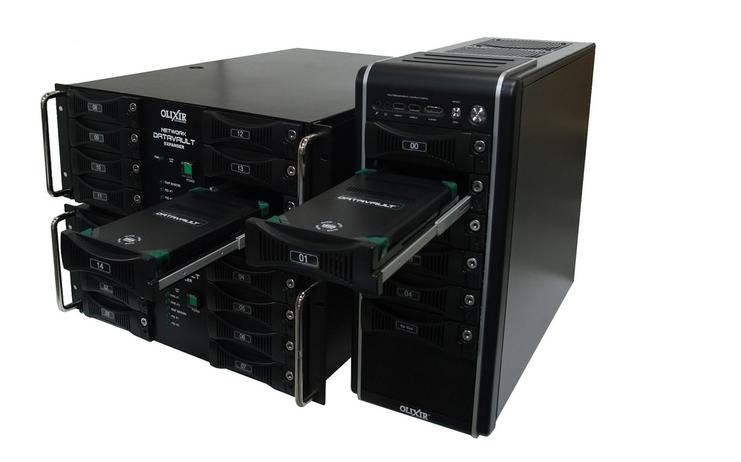 Olixir Docking Bay on Tower and Rack