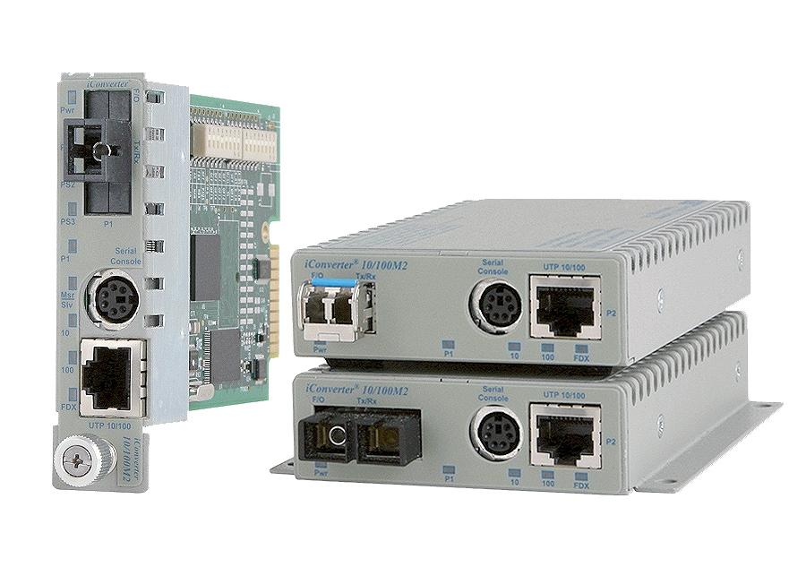 Omnitron iConverter 10/100M2
